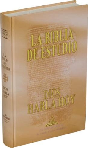 Biblia Católica de Estudio Dios Habla Hoy
