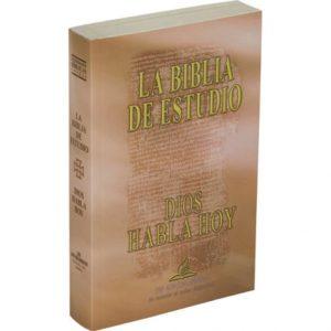 Biblia Católica de Estudio Dios Habla Hoy cubierta rústics